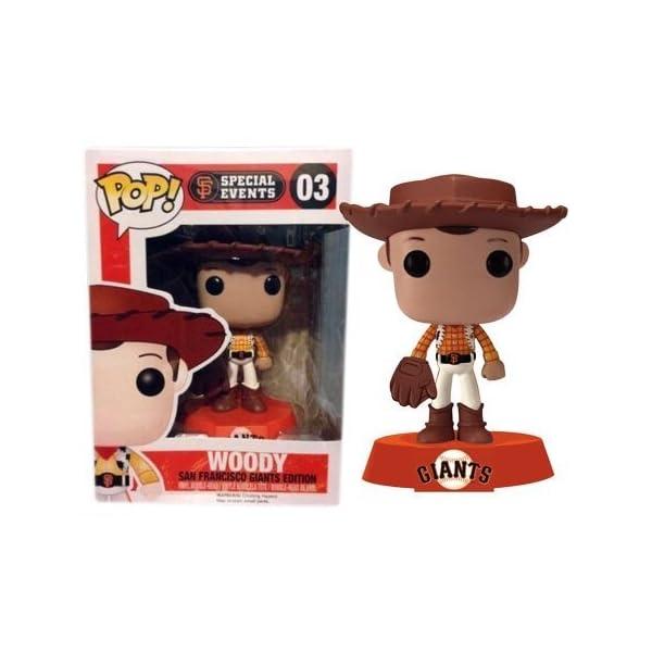 Funko Pop Woody San Francisco Giants beisbol (Toy Story – Disney 03) Funko Pop Disney