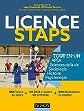 Licence STAPS Tout en Un - 120 fiches de cours, 60 QCM et sujets de synthèse...