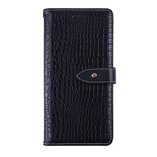 CiCiCat BLUBOO S8 Plus Hülle Handyhüllen, Flip Back Cover Case Schutz Hülle Tasche Schutzhülle Für BLUBOO S8 Plus Smartphone. (BLUBOO S8 Plus 6.0'', Schwarz)