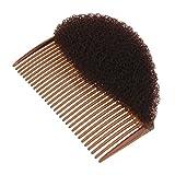 MagiDeal Styler Cheveux Bumpits Volume Bouffant Shaper Ruche Bosse Café