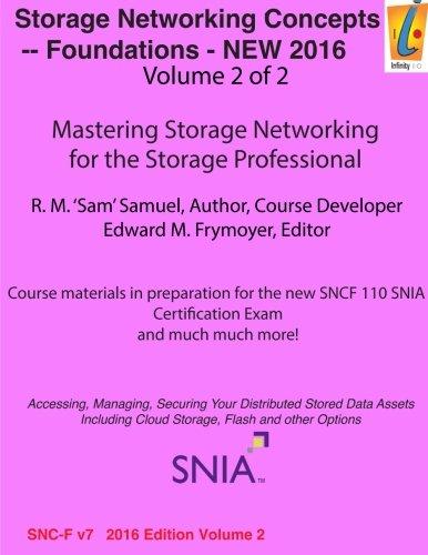 Preisvergleich Produktbild Storage Networking Concepts - Fundamentals Volume 2 of 2: SN110