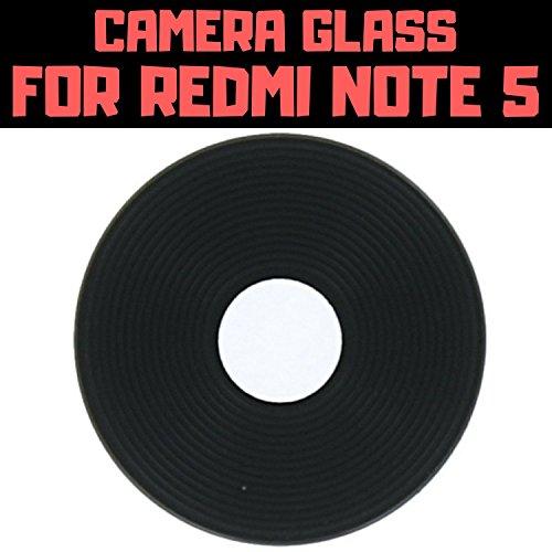 HUKATO.COM Xiaomi MI Redmi Note 5 Compatible Back Rear Camera Glass Lens