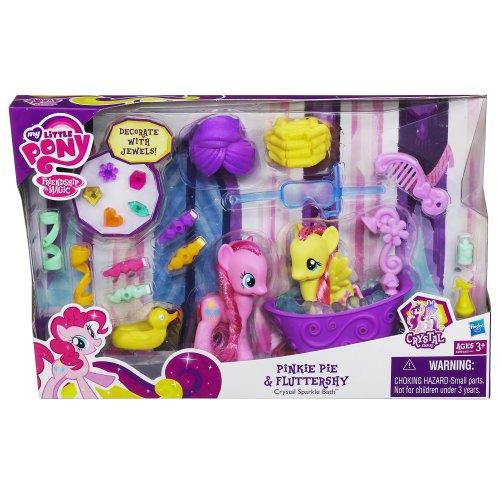My Little Pony My Little Pony Pinkie Pie and Fluttershy Crystal Sparkle Bath Set