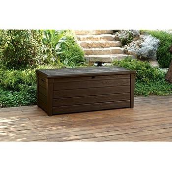 Marvelous Garden Storage Bench Box Large 454L Keter Resin Furniture Lockable Waterproof Unemploymentrelief Wooden Chair Designs For Living Room Unemploymentrelieforg