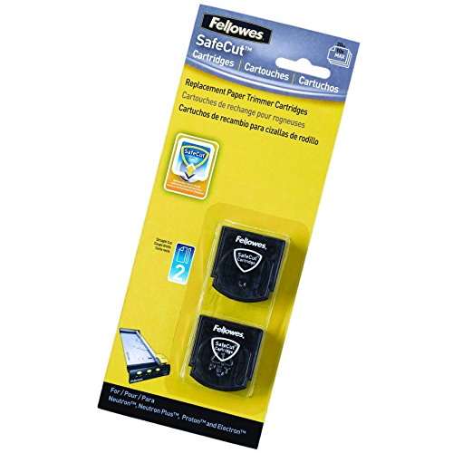 Fellowes 5411401 SafeCut Schneidekassetten schwarz/transparent