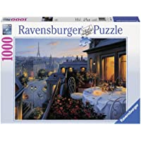 Ravensburger 19410 0 - Balcone a Parigi, Puzzle 1000 Pezzi