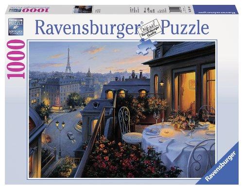 Ravensburger-Puzzle Balkon Pariser 1000Teile, 19410