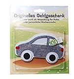 Udo Schmidt Geldgeschenk Auto Grau Geschenk Geldumschlag