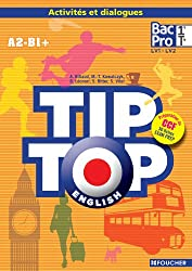 TIP-TOP ENGLISH 1re Tle Bac Pro CD audio