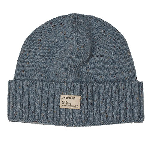 Brooklyn hat co 0016698508438 Merino Wool Beanie Blue- Price in India 90e167423eec