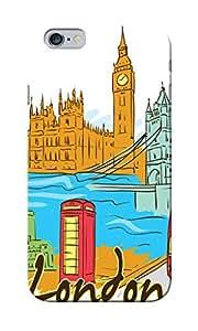 CimaCase London Designer 3D Printed Case Cover For Apple iPhone 6S