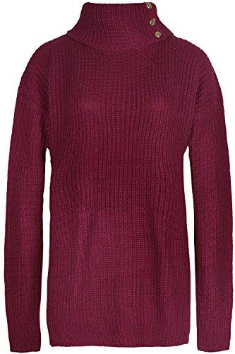 Fashion Star Damen Pullover *, Rot -
