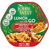 John West Light Lunch Mediterranean Style Tuna Salad, 220g