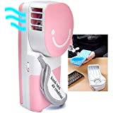 QUMOX Mini Cooli Portable USB HandHeld Air Conditioner Summer Cooler Fan Pink