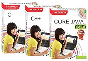 LearnC, C++ , CORE JAVA (Hindi) (Inception Success Series - 3 CDs)