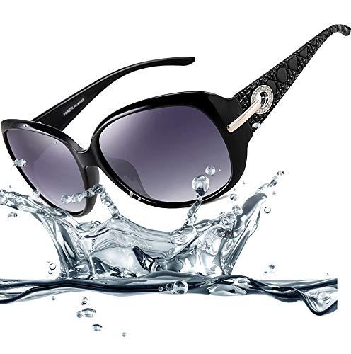 1f0367061a ATTCL Mens Ultralight Al-Mg Metal Frame Driving Polarized Sunglasses  16560blackgray AT6560
