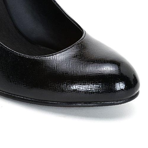 Alesya by Scarpe&Scarpe - Scarpe col Tacco con effetto lucido Nero