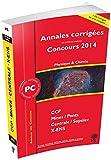 Annales des concours 2014 PC physique et chimie