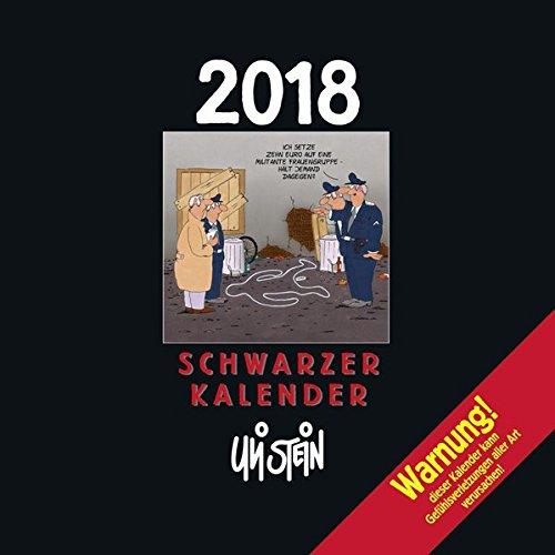 Uli Stein Schwarzer Kalender 2018