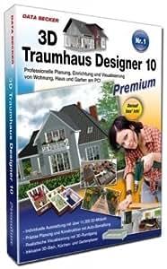 3d traumhaus designer 10 premium suite software. Black Bedroom Furniture Sets. Home Design Ideas