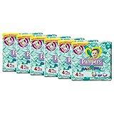 Pampers Baby Dry Pannolini Maxi, Taglia 4 (7-18 kg), 6 Pacchi da 26 Pezzi