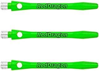 Red Dragon DRX Green Coated Aluminium Medium Shafts Checkout Card