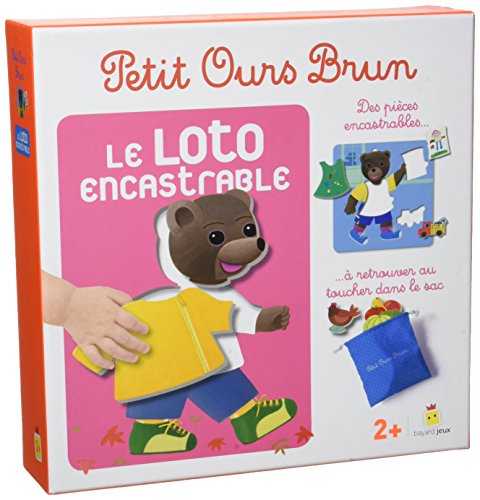 Jeu Petit Ours Brun - Loto encastrable