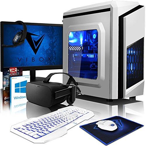 VIBOX VR Gaming PC - Killstreak VRTR64-286 Package + Oculus Rift VR