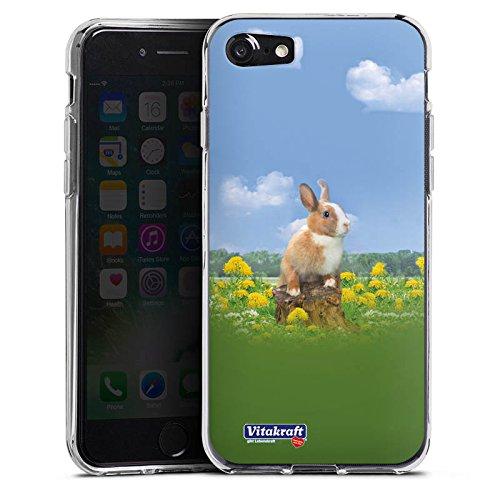 Apple iPhone X Silikon Hülle Case Schutzhülle Häschen Hase Kaninchen Silikon Case transparent