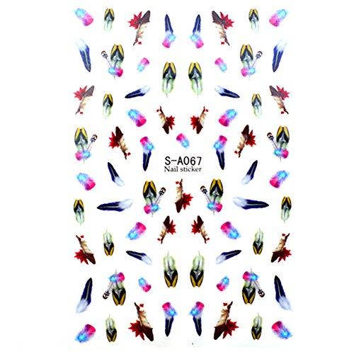 Générique1 Planche 3D Sticker Déco Ongles Nail Art