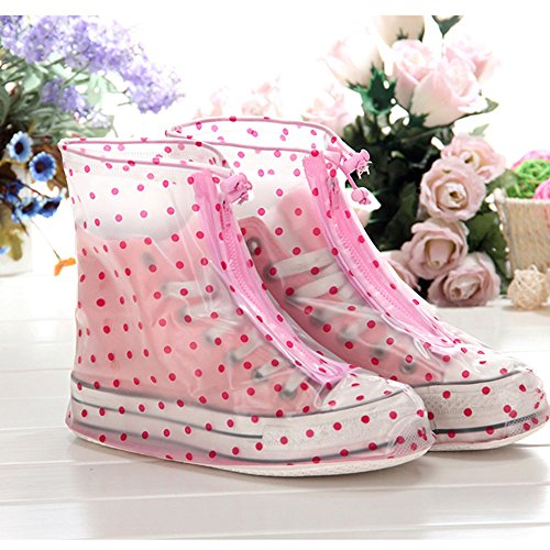 'Spritech (TM) impermeabile pioggia scarpe, stivali da pioggia unisex Copriscarpe Pioggia Gear