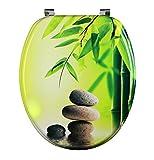Eisl WC Sitz Green Garden, mit Holzkern (MDF), Motiv, EDGG01