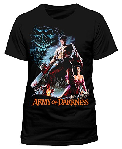 Evil Dead Army Of Darkness Bruce Campbell Unisex Tee