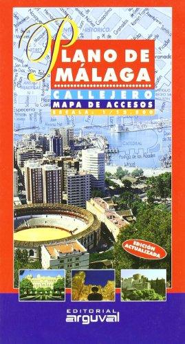 Plano de Málaga (PLANOS Y GUÍAS CALLEJEROS) por Arguval