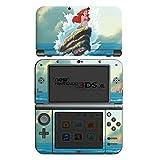 Nintendo New 3DS XL Case Skin Sticker aus Vinyl-Folie Aufkleber Disney Arielle die Meerjungfrau Geschenke Merchandise
