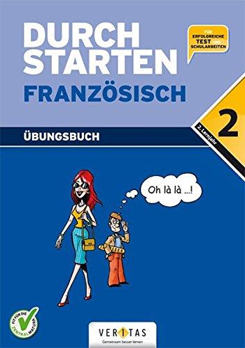 Durchstarten - Französisch - Neubearbeitung: 2. Lernjahr - Übungsbuch mit Lösungen