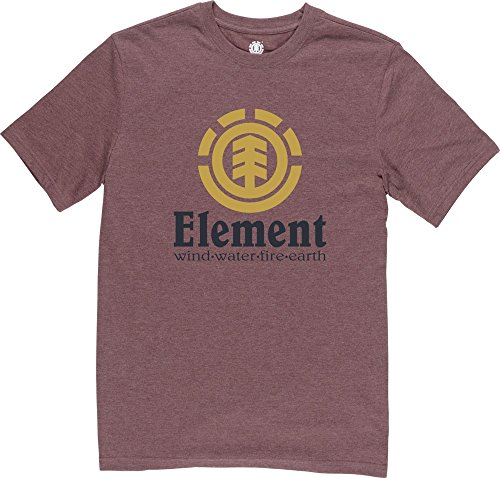 Element Vertical T-Shirt Oxblood
