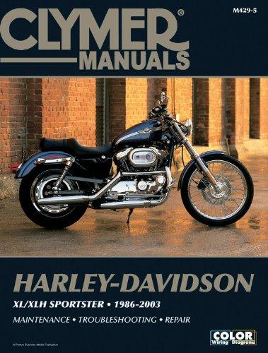 Harley-Davidson Xl/Xlh Sportster (CLYMER MOTORCYCLE REPAIR)