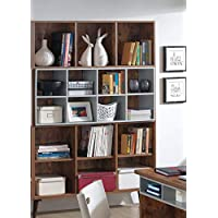 Maison Concept Shelves and Racks, MDP, White & Brown