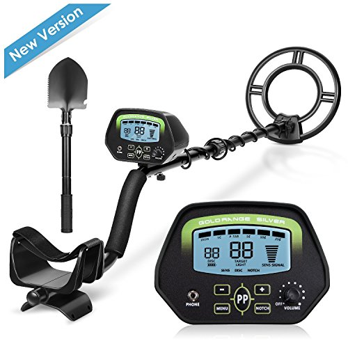 Intey GC1037, metal detector con display e pala accorciabile