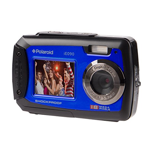 Polaroid Digitalkamera iE090 18MP schwarz/blau - 4