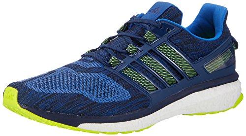 adidas Energy Boost 3, Chaussures de Running Compétition homme Bleu (Blue/solar Yellow/mystery Blue)