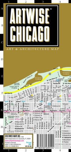 Artwise Chicago Museum: Museum Map of Chicago, Illinois (Streetwise (Streetwise Maps)) North Wi-chart