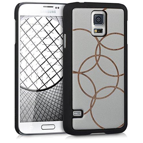 kalibri-Schutzhlle-aus-Holz-mit-Laser-Gravur-fr-Samsung-Galaxy-S5-S5-Neo-S5-Duos-Premium-Case-Cover-mit-Kunststoff-im-Bubbles-Design