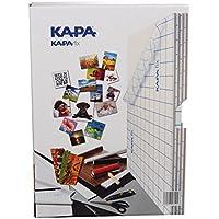 Kapa-Fix Box con 8leggero tessuto pannelli DIN A4autoadesivi da sollevare di Digital foto e per il modellino di