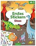 Erstes Stickern Dinos: Über 250 Sticker (Mein Stickerbuch)
