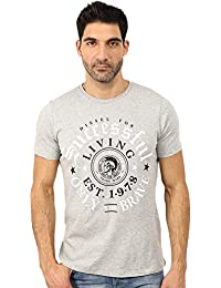 Diesel - T-Shirt Hommes Col Rond Manches Courtes Thrial