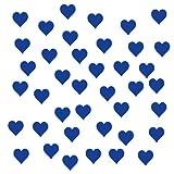 40 Herzen-Aufkleber zur Dekoration von Autos, Motorrädern, Fahrrädern und allen anderen Fahrzeugen