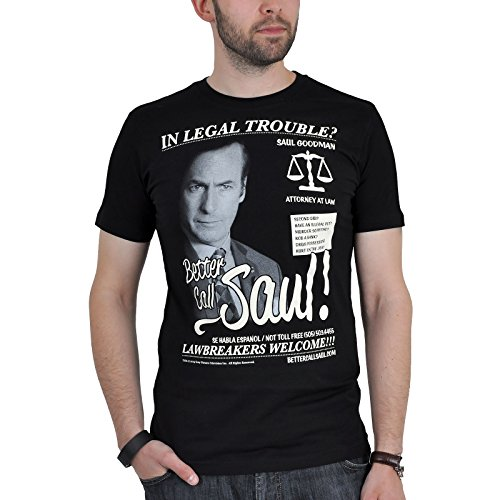 Breaking Bad Better Call Saul T-Shirt nero M