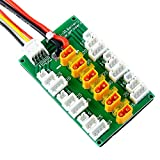 Crazepony XT30 Parallel Charging Board for 2S 3S LiPo Batteries Compatible with XT30 JST Connector LiPo Batteries